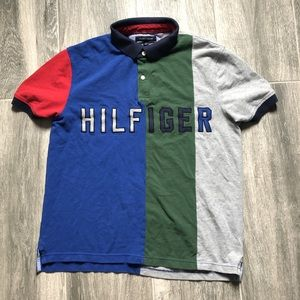 Tommy Hilfiger ColorBlock SpellOut shirt